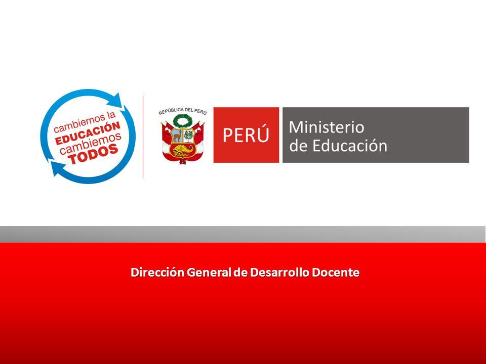 Dirección General de Desarrollo Docente