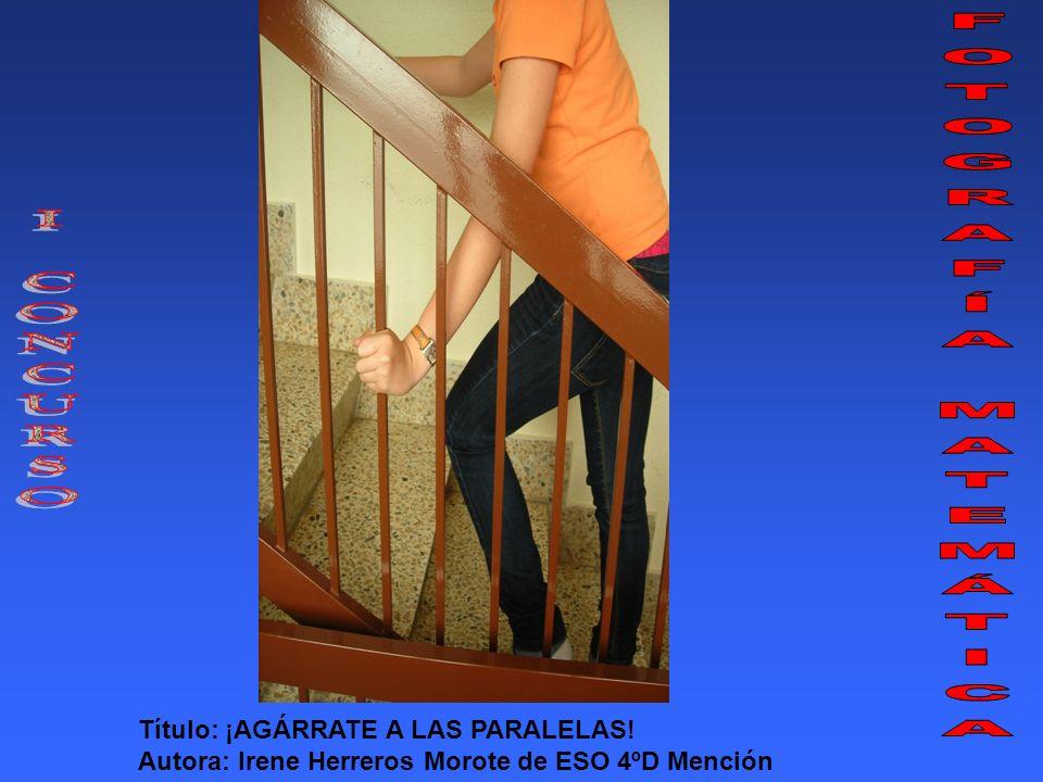 Título: DIFERENTES PERO IGUALES Autora: Celia Martínez Bañón de ESO 1º C Mención