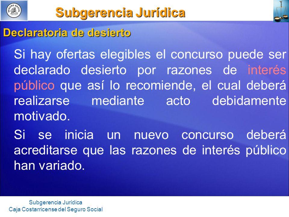 Subgerencia Jurídica Subgerencia Jurídica Subgerencia Jurídica Caja Costarricense del Seguro Social Acto final firme.