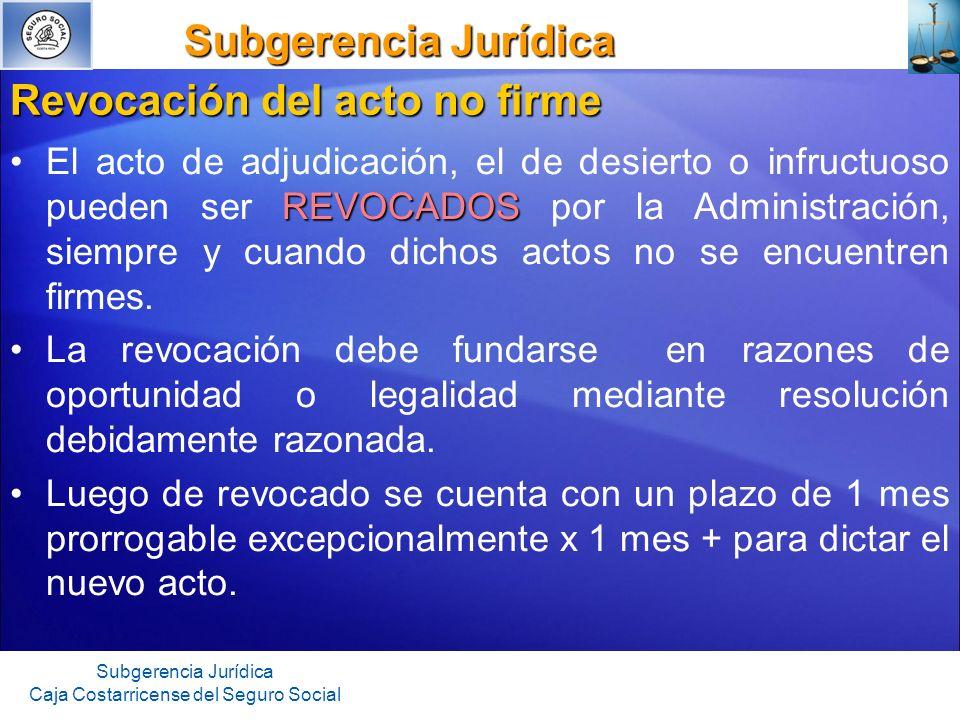 Subgerencia Jurídica Subgerencia Jurídica Subgerencia Jurídica Caja Costarricense del Seguro Social Garantía de cumplimiento Respalda la correcta ejecución del contrato.