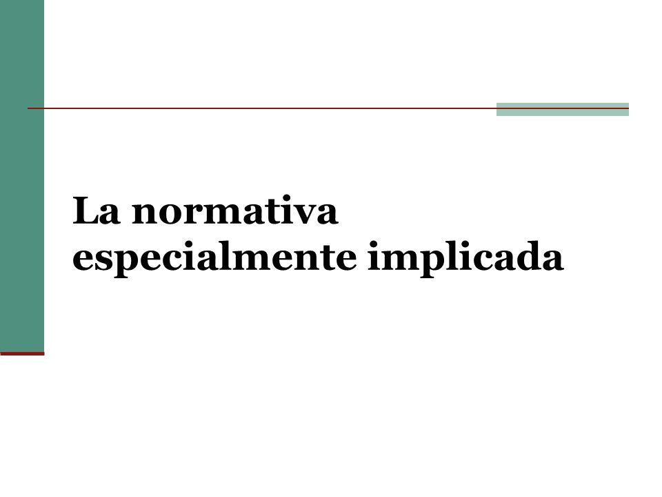 Algunas normas del derecho comparado Ley española 22/03.