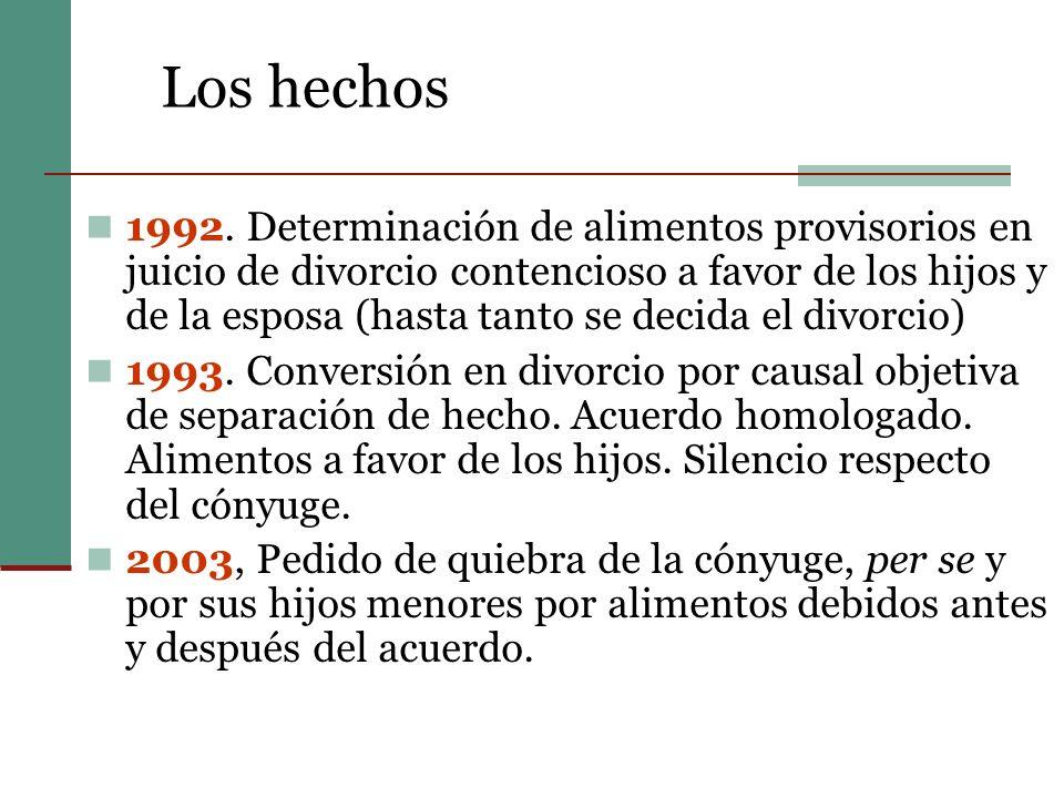 Los hechos 1992.