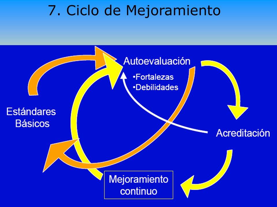 Ramón R. Abarca Fernández 12 7. Ciclo de Mejoramiento