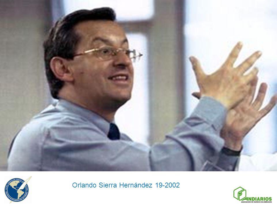 Orlando Sierra Hernández 19-2002