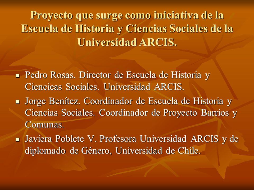 Pedro Rosas. Director de Escuela de Historia y Ciencieas Sociales. Universidad ARCIS. Pedro Rosas. Director de Escuela de Historia y Ciencieas Sociale