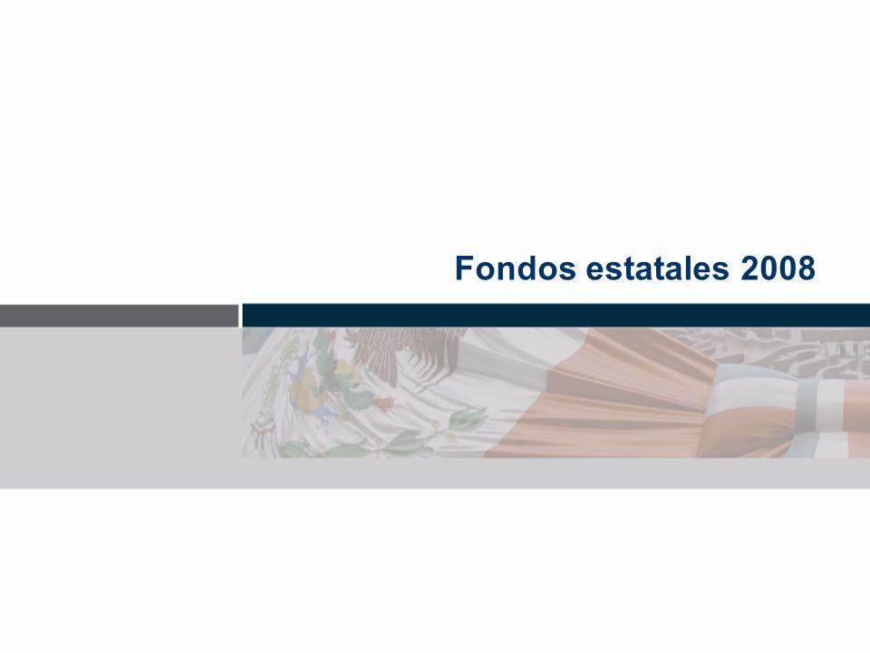 Fondos estatales 2008
