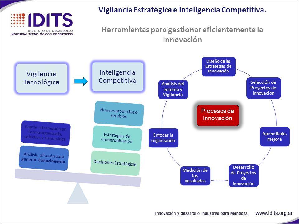 Vigilancia Estratégica e Inteligencia Competitiva.
