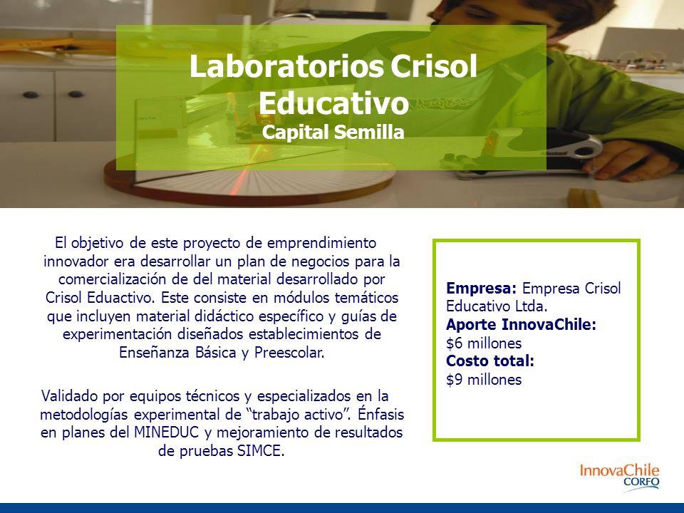 El objetivo de este proyecto de emprendimiento innovador era desarrollar un plan de negocios para la comercialización de del material desarrollado por Crisol Eduactivo.
