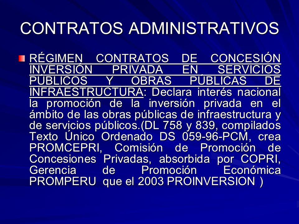 CONTRATOS ADMINISTRATIVOS RÉGIMEN CONTRATOS DE CONCESIÓN INVERSIÓN PRIVADA EN SERVICIOS PÚBLICOS Y OBRAS PÚBLICAS DE INFRAESTRUCTURA: Declara interés