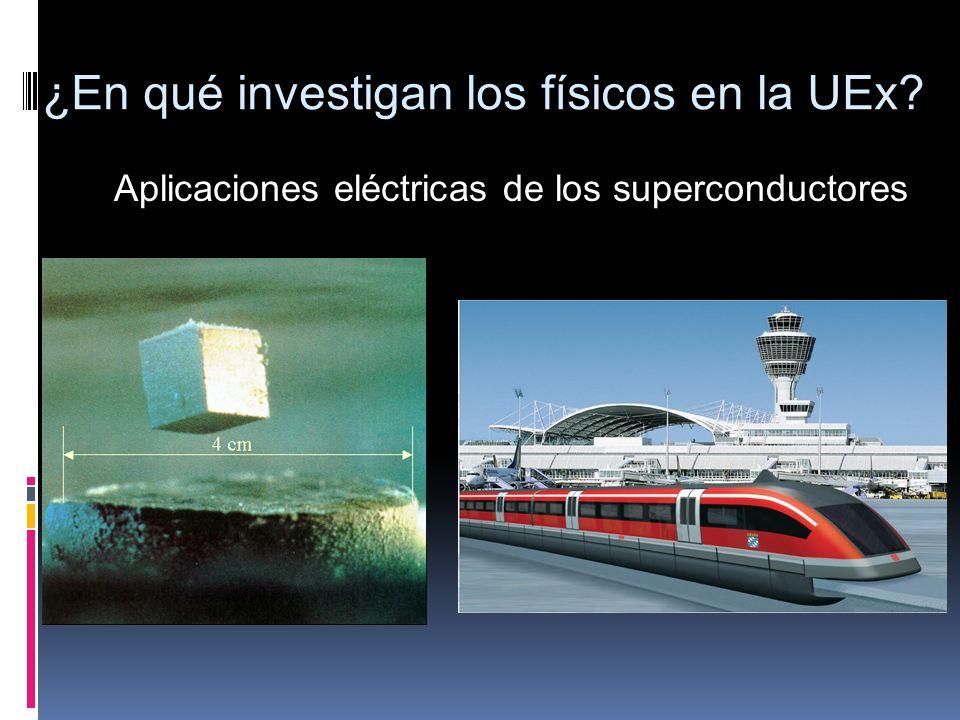 Aplicaciones eléctricas de los superconductores ¿En qué investigan los físicos en la UEx?
