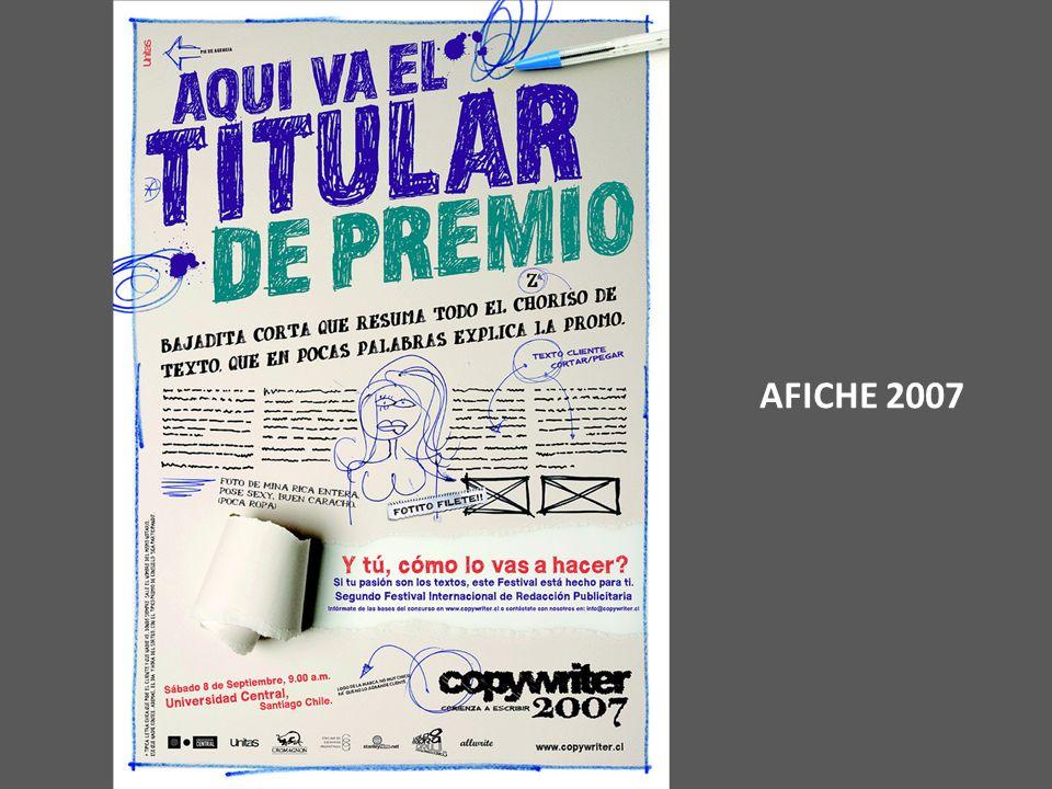 AFICHE 2007