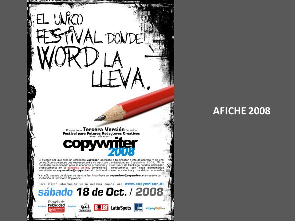 AFICHE 2008