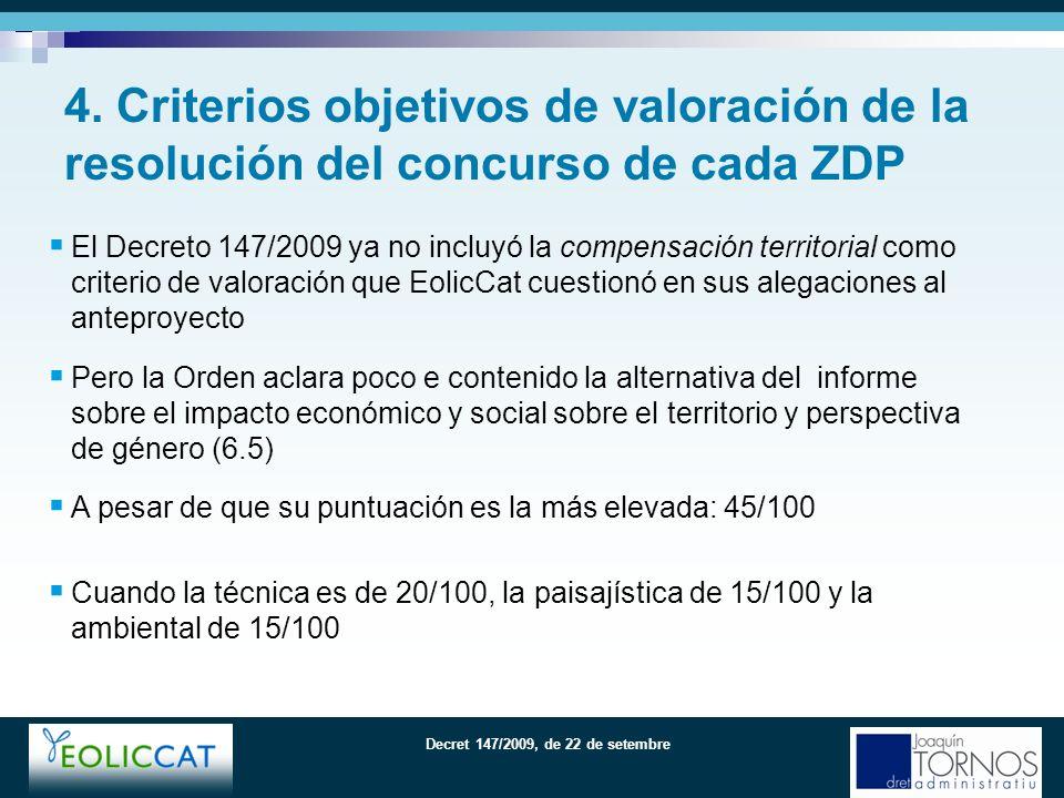 Decret 147/2009, de 22 de setembre La regulación, en el mismo procedimiento, del Plan especial urbanístico como instrumento urbanístico es la gran virtud del Decreto 147/2009; su ausencia era la gran laguna del D.