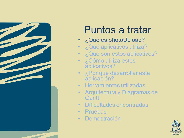 ¿Qué es PhotoUpload.