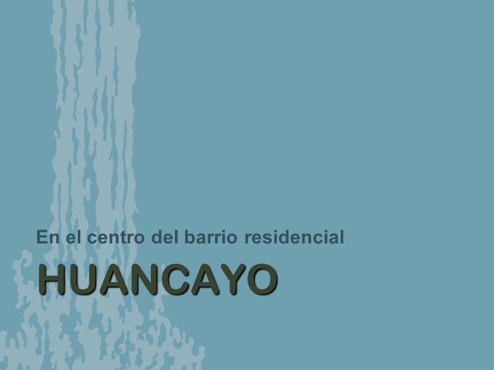 HUANCAYO En el centro del barrio residencial