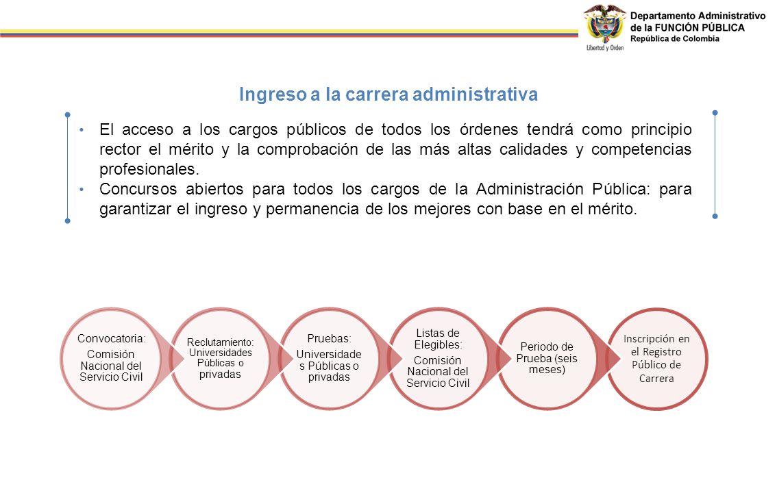 El acceso a los cargos públicos de todos los órdenes tendrá como principio rector el mérito y la comprobación de las más altas calidades y competencia