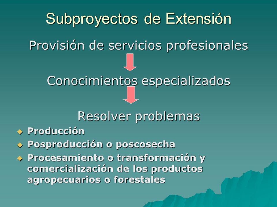Temas prioritarios de INCAGRO a.Promoción de cadenas agrocomerciales b.