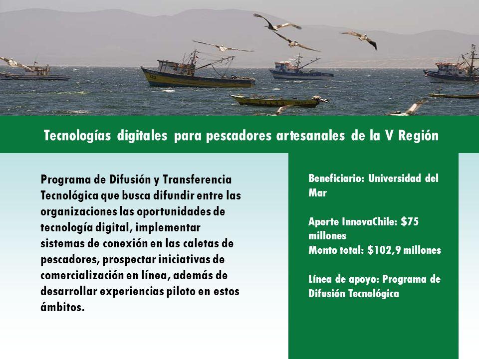 Programa de Difusión y Transferencia Tecnológica que busca difundir entre las organizaciones las oportunidades de tecnología digital, implementar sist