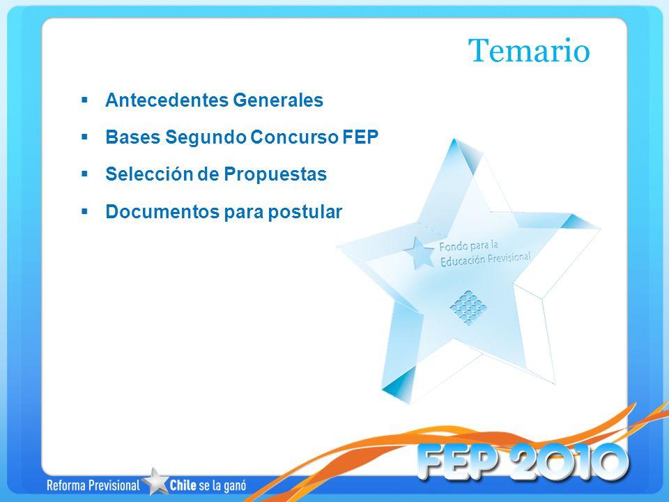 Los proyectos serán evaluados por un Comité de Selección, el que podrá requerir información adicional sobre los proyectos.