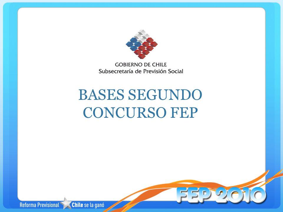 BASES SEGUNDO CONCURSO FEP