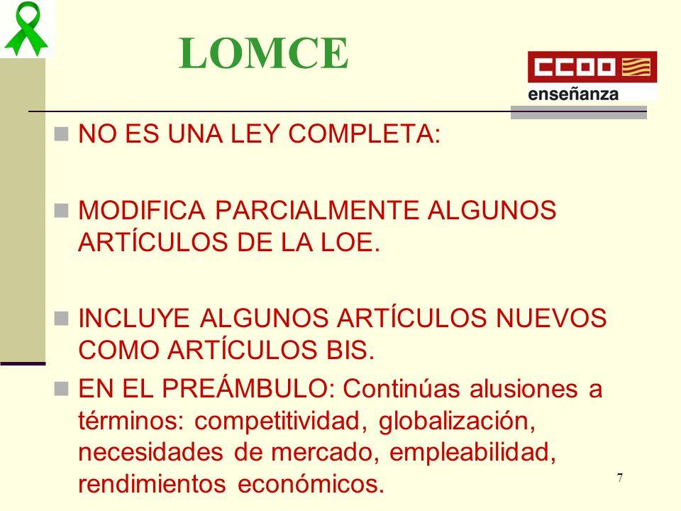 02/05/201428 EVALUACIÓN DEL SISTEMA EDUCATIVO.PUBLICACIÓN Y RANKING DE CENTROS.