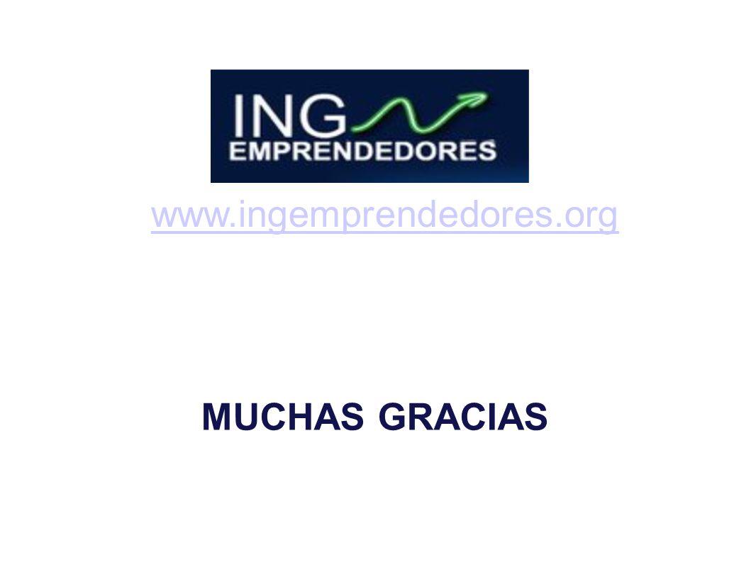 www.ingemprendedores.org MUCHAS GRACIAS