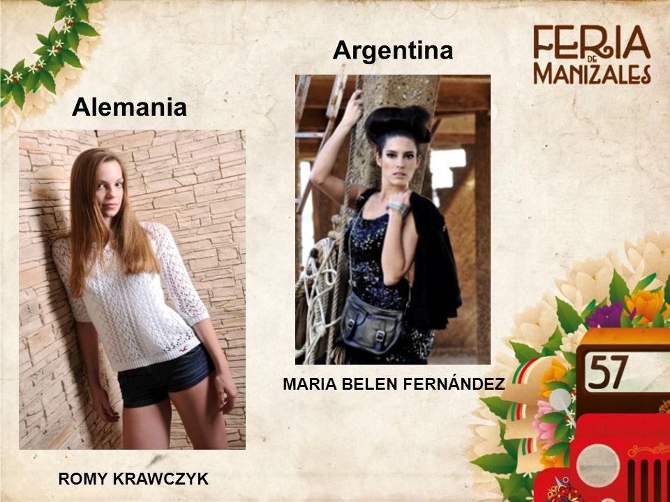 Alemania ROMY KRAWCZYK Argentina MARIA BELEN FERNÁNDEZ