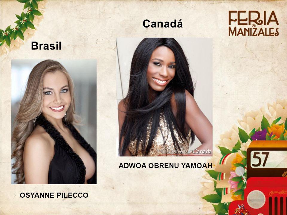 Brasil OSYANNE PILECCO Canadá ADWOA OBRENU YAMOAH