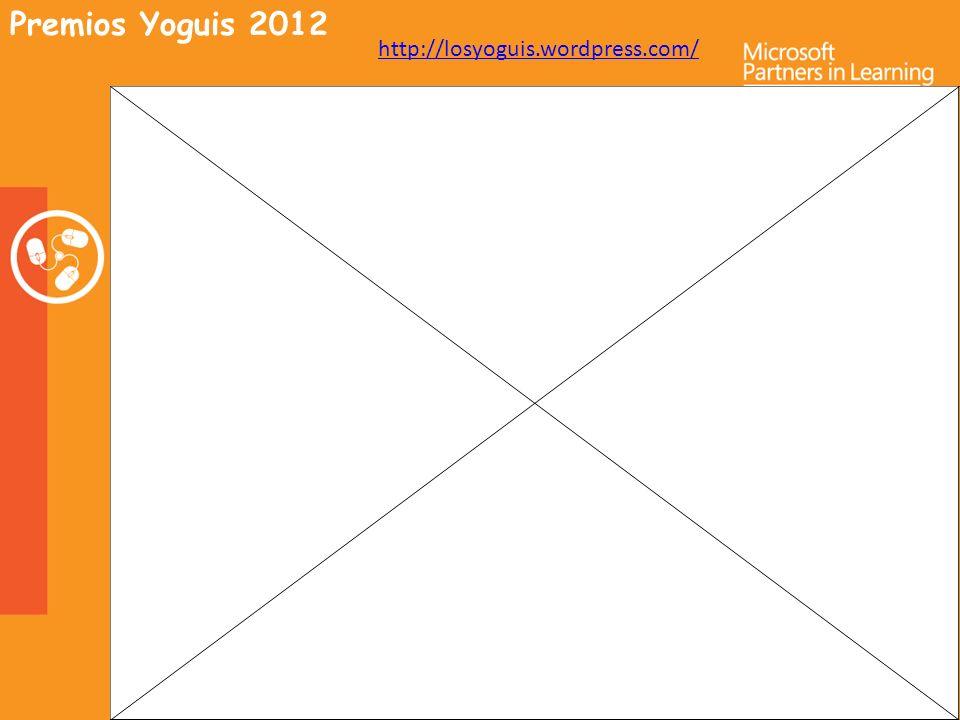 Premios Yoguis 2012 http://losyoguis.wordpress.com/
