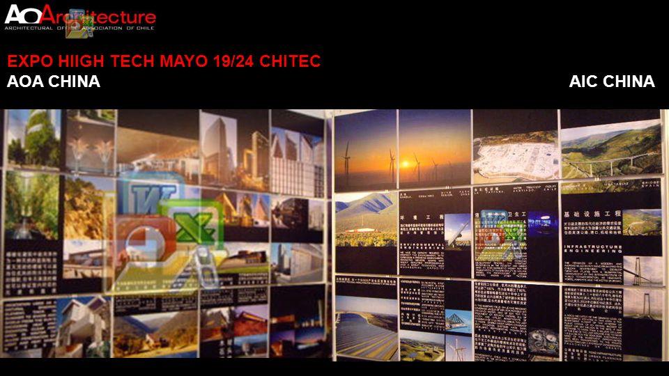 EXPO HIIGH TECH MAYO 19/24 CHITEC CONTACTOS ESTABLECIDOS 1.- Contactos que mencionan posibilidades de proyectos.