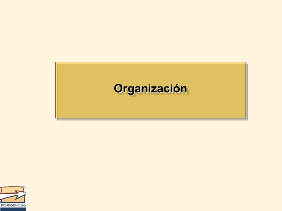 OrganizaciónOrganización