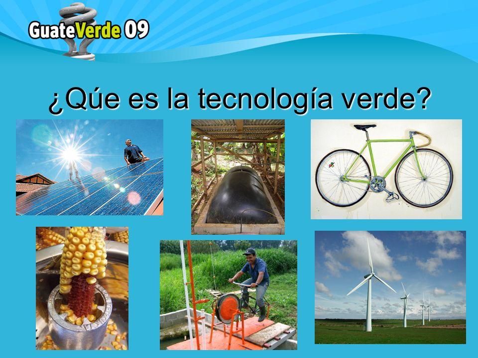 ¿Qúe es la tecnología verde