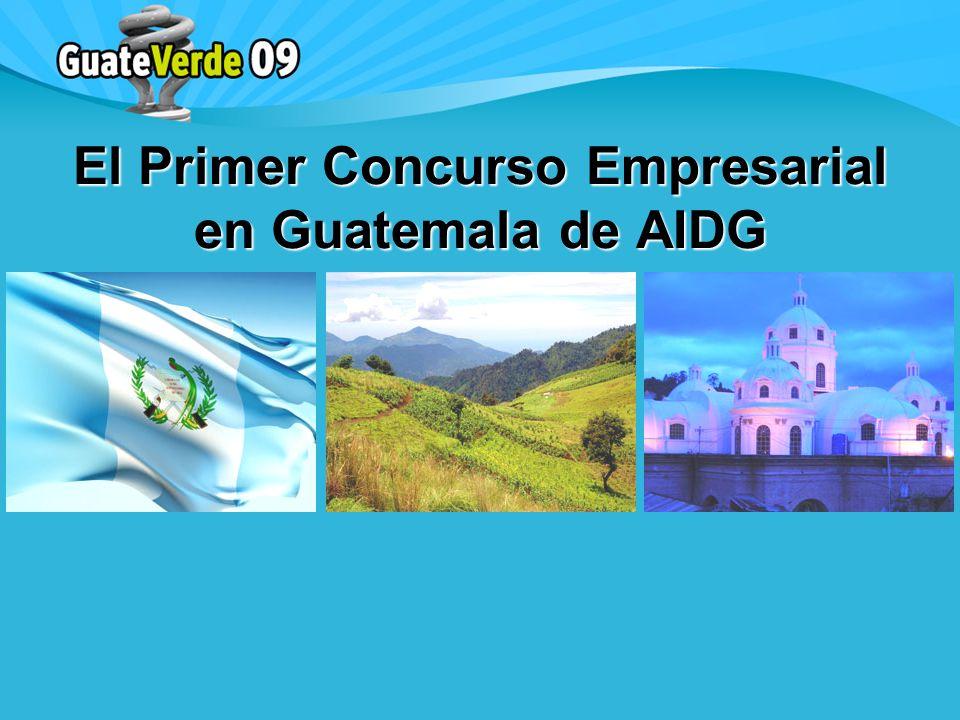 El Primer Concurso Empresarial en Guatemala de AIDG