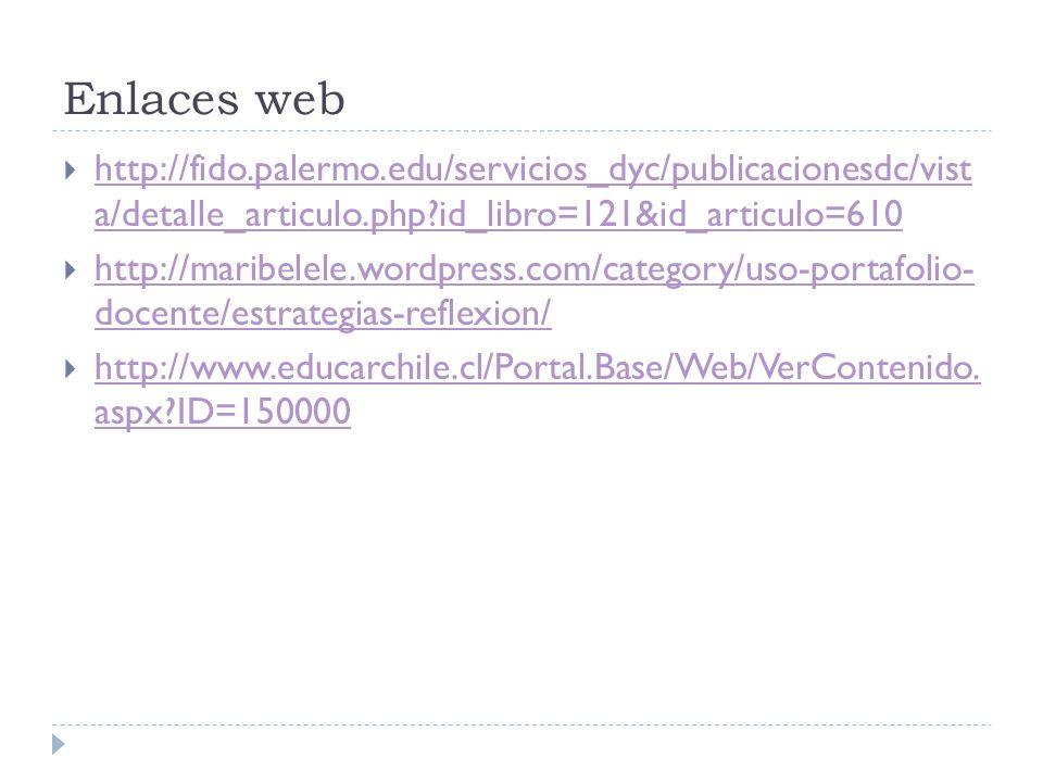 Enlaces web http://fido.palermo.edu/servicios_dyc/publicacionesdc/vist a/detalle_articulo.php?id_libro=121&id_articulo=610 http://fido.palermo.edu/ser