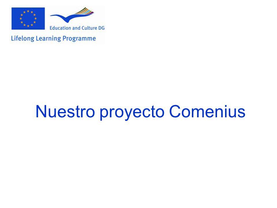 Nuestro proyecto Comenius