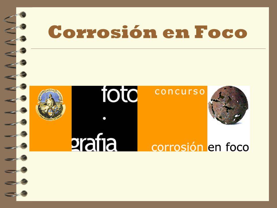 Concluiremos nuestro curso con una actividad que pone el foco en un tema de fundamental interés cual es LA CORROSIÓN.