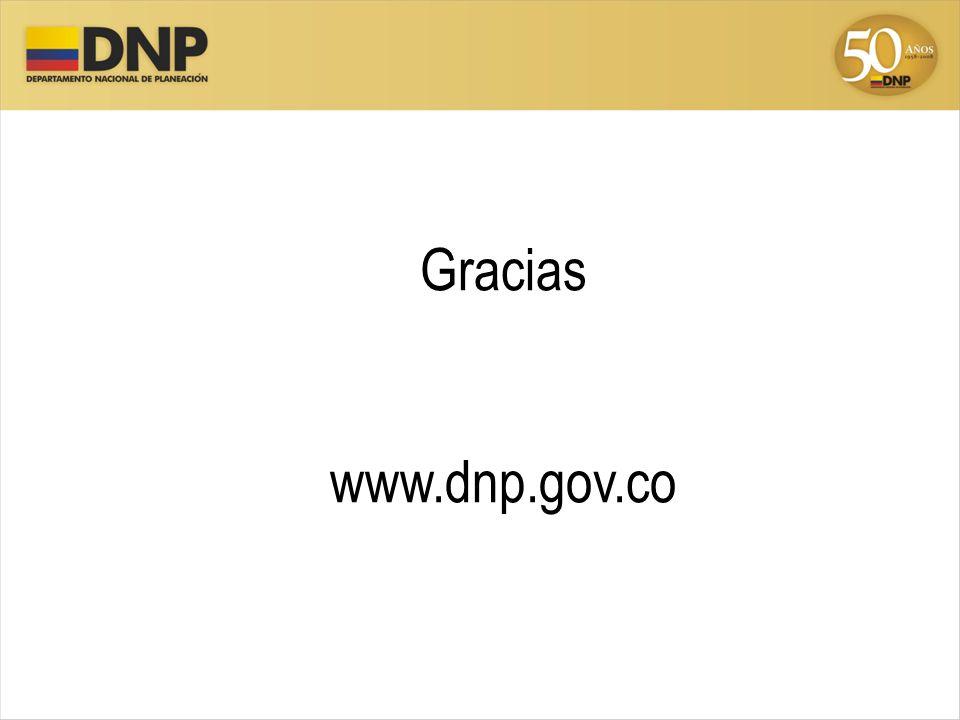 Gracias www.dnp.gov.co
