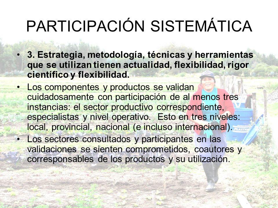 PARTICIPACIÓN SISTEMÁTICA 3.