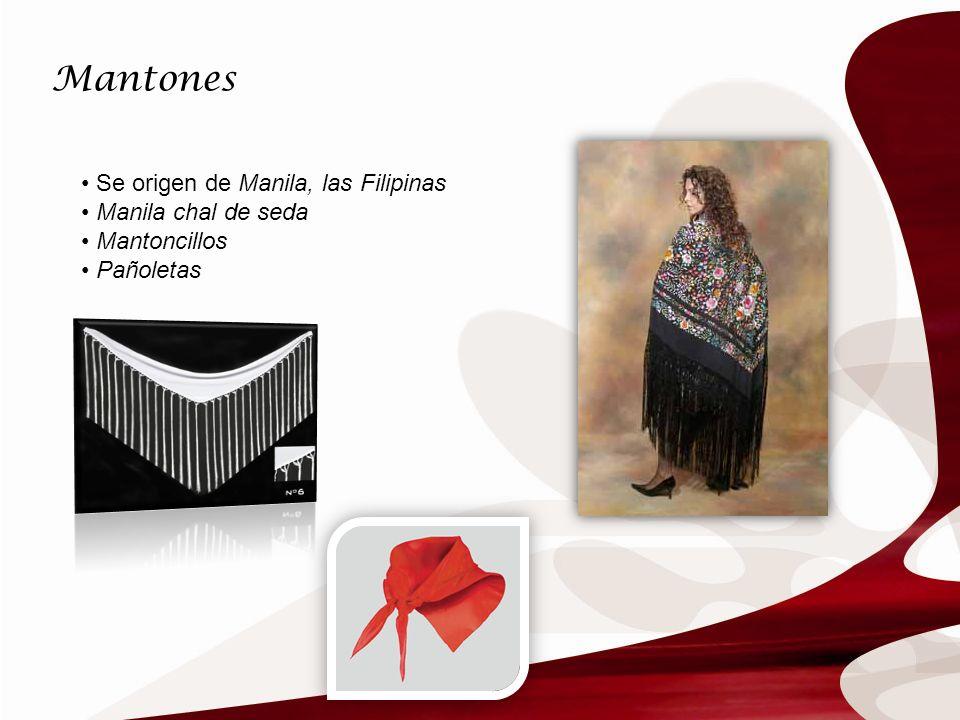 Mantones Se origen de Manila, las Filipinas Manila chal de seda Mantoncillos Pañoletas