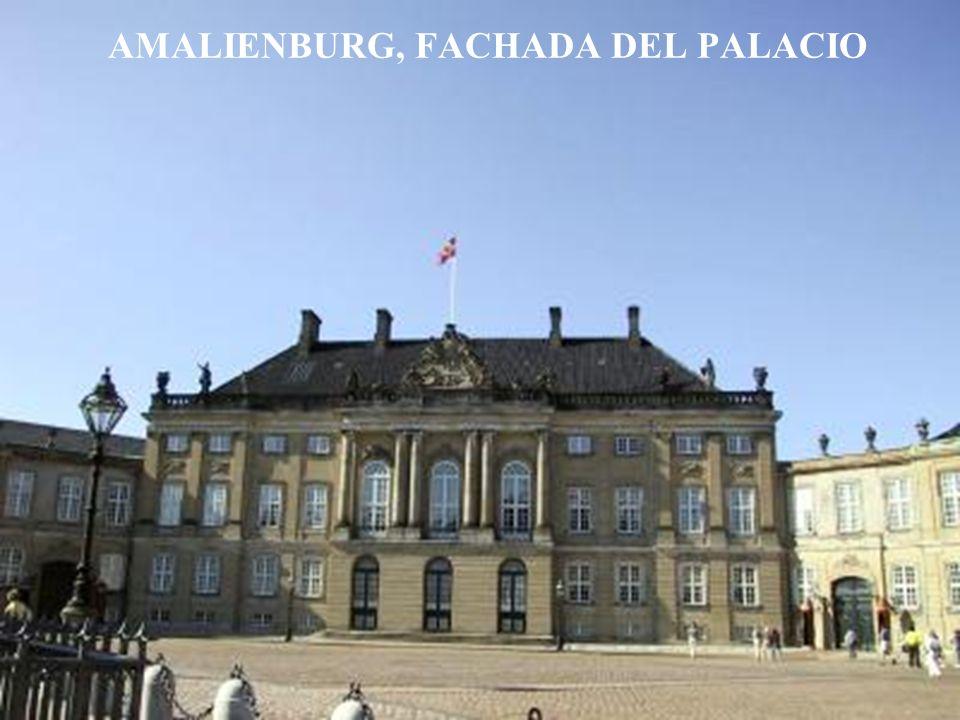 AMALIENBURG, FACHADA DEL PALACIO
