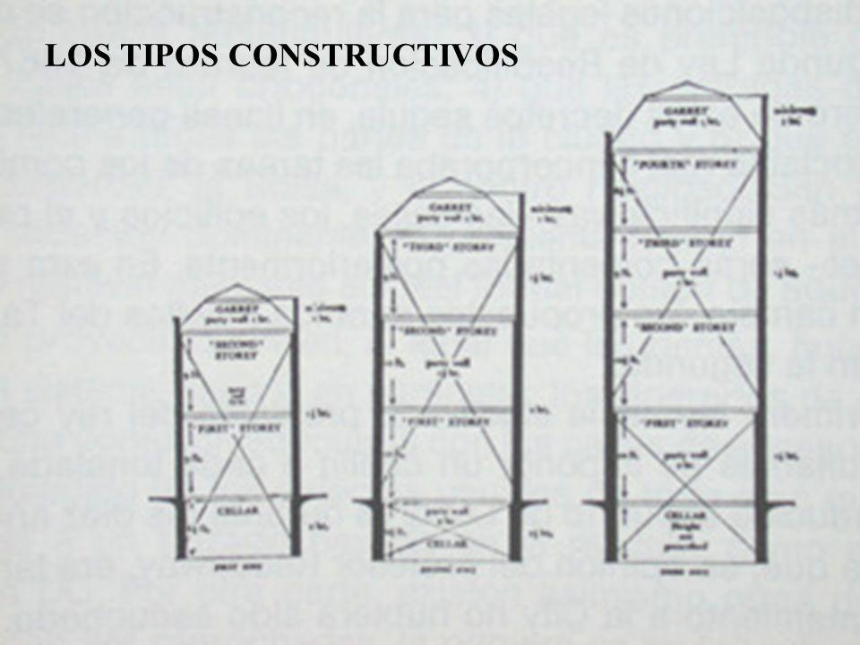 LOS TIPOS CONSTRUCTIVOS