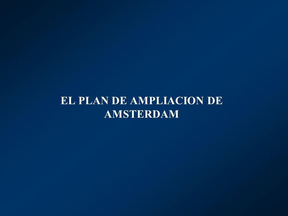 EL PLAN DE AMPLIACION DE AMSTERDAM