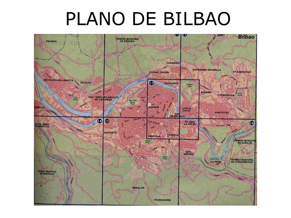 PLANO DE BILBAO
