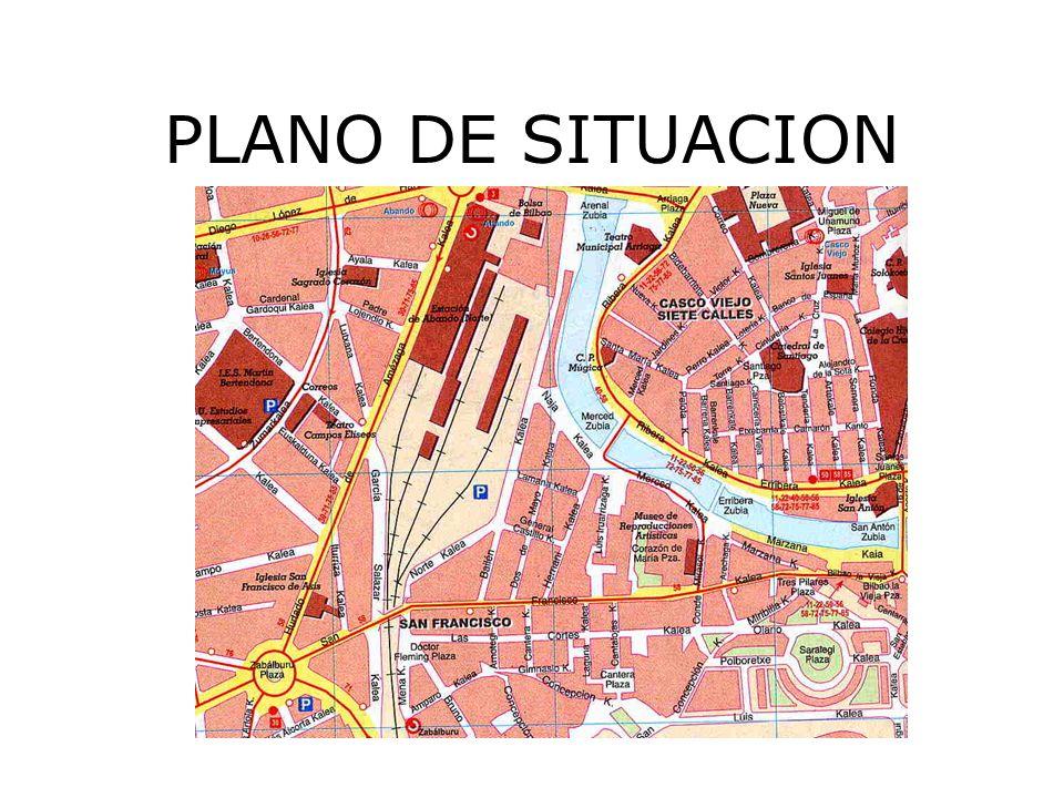 PLANO DE SITUACION