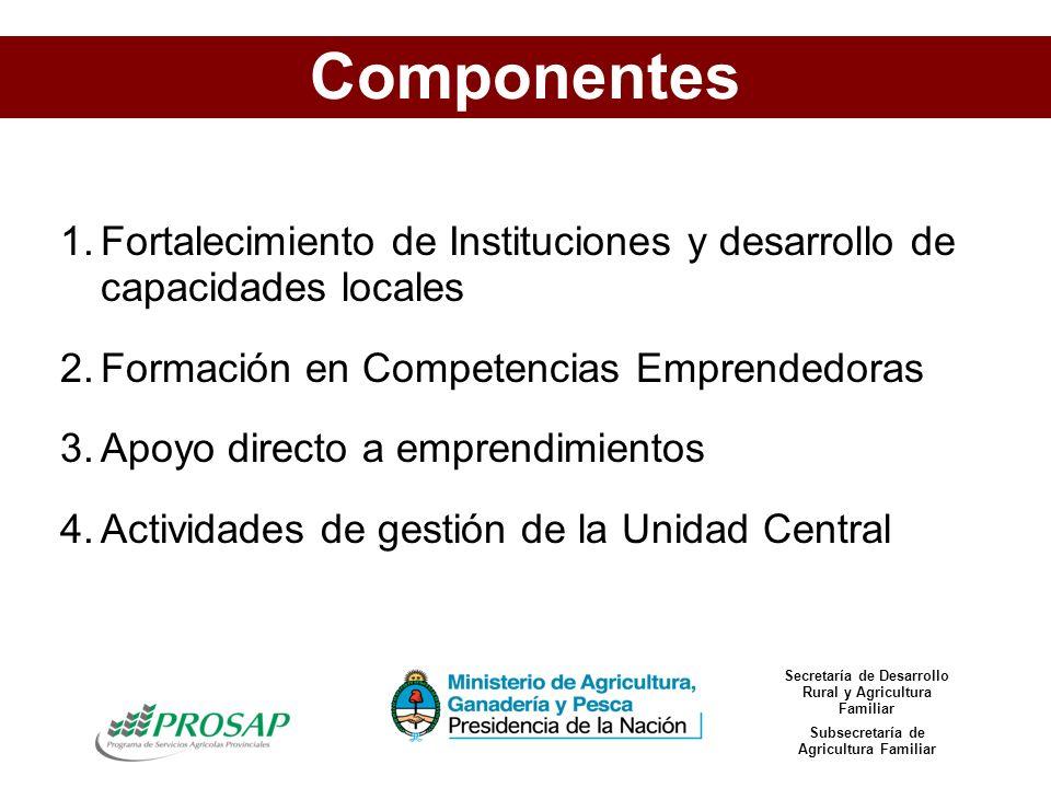 CONTEXTO CULTURAL COMPETENCIAS EMPRENDEDORAS SEGUIMIENTO FACILITADOR ACCESO A LOS RECURSOS ACCESO AL FINANCIAMIENTO Joven Rural REDES Y CAPITAL SOCIAL Ámbitos de Intervención de los Centros de Desarrollo Emprendedor
