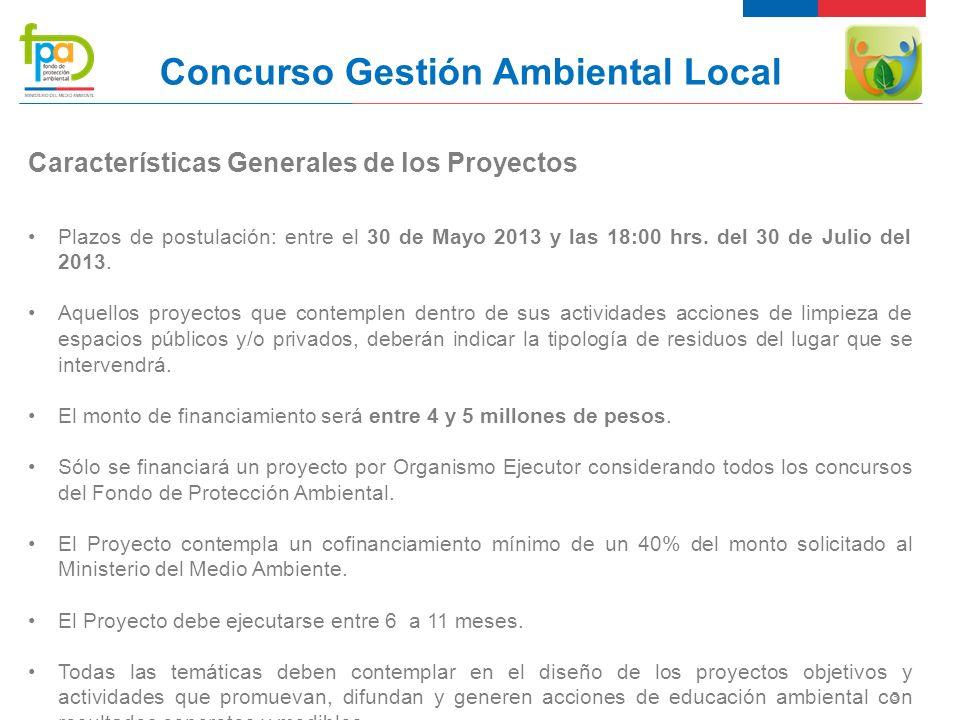 14 Concurso Gestión Ambiental Local Costos Operacionales Se refiere a los costos relacionados con el desarrollo de las actividades y la ejecución del proyecto.
