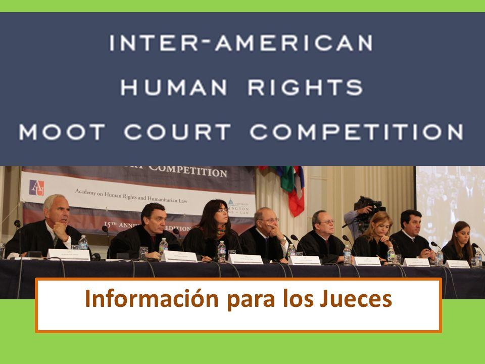 Información para los Jueces