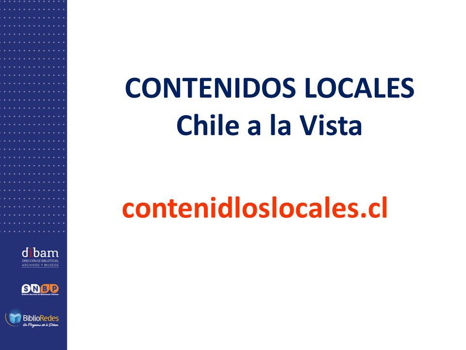 CONTENIDOS LOCALES Chile a la Vista contenidloslocales.cl
