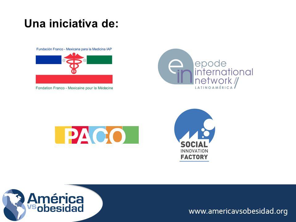 www.americavsobesidad.org Una iniciativa de: