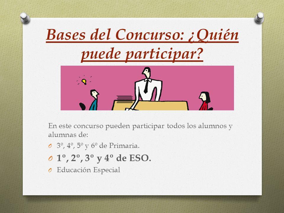 Bases del Concurso: ¿Cómo participar.
